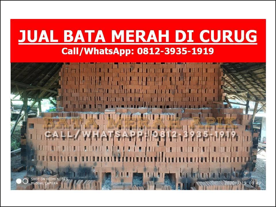 JUAL BATA MERAH DI CURUG