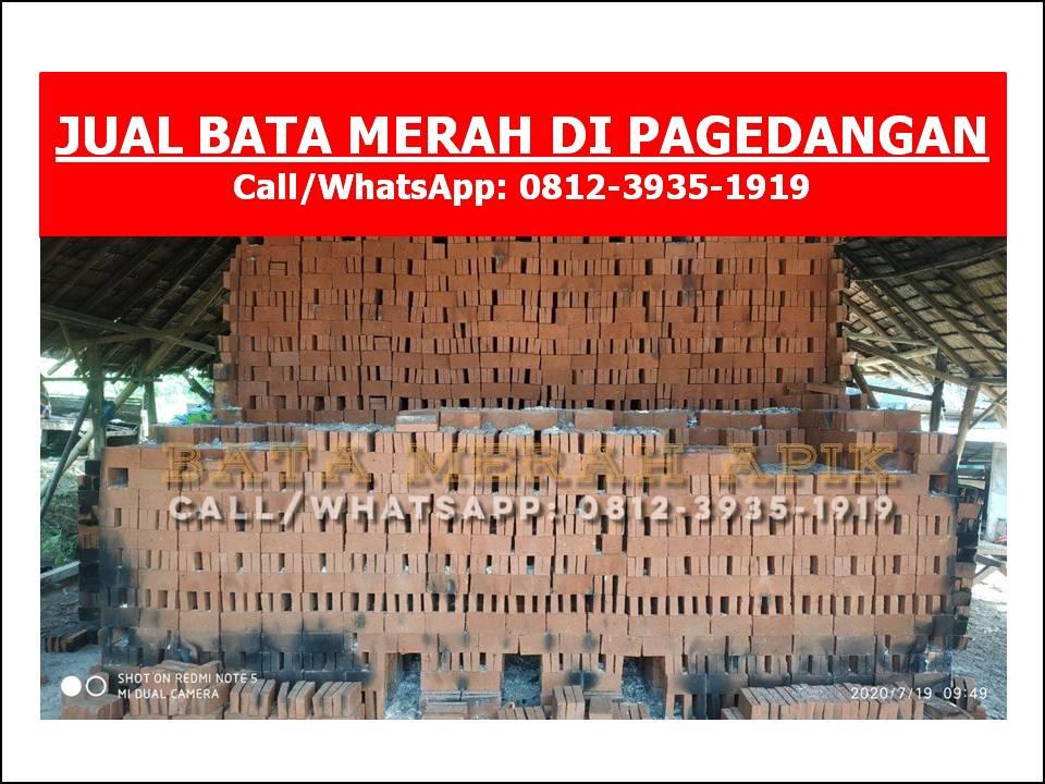 JUAL BATA MERAH DI PAGEDANGAN