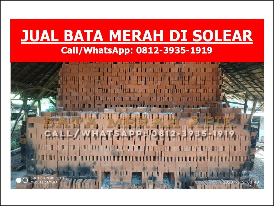 JUAL BATA MERAH DI SOLEAR